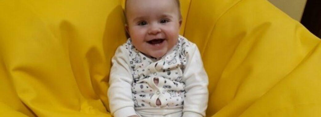 Аби врятувати 11-місячу Вікторію: небайдужих запрошують приднатись до благодійного аукціону