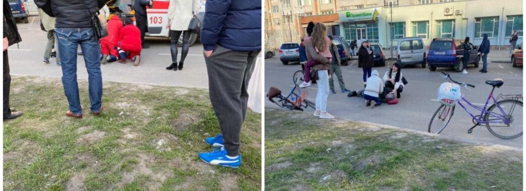 Раптово впав з велосипеда: у Червонограді на вулиці помер чоловік