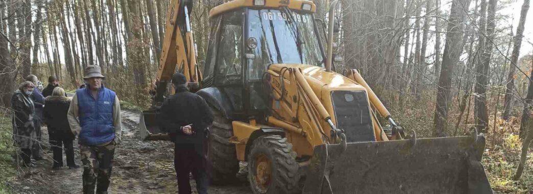 «Буду робити, що хочу»: поблизу Львова ліс без відома громади опинився у довготривалій оренді