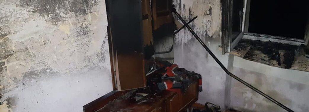 У Стрию молода матір з трьома дітьми отруїлися димом під час пожежі
