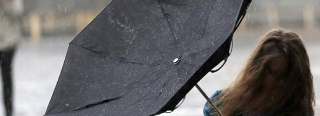 Грози, пориви вітру і навіть мокрий сніг: на Львівщині оголосили штормове попередження