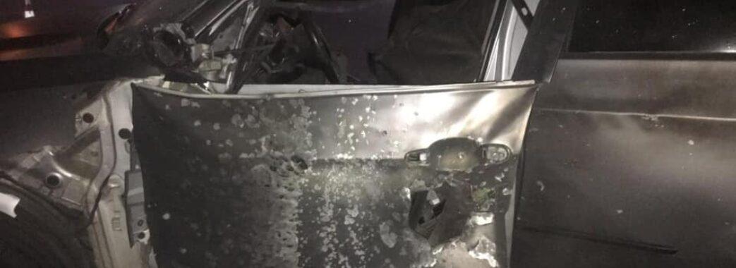 Мешканцю Львівщини на Прикарпатті обстріляли машину з протитанкового ручного гранатомета