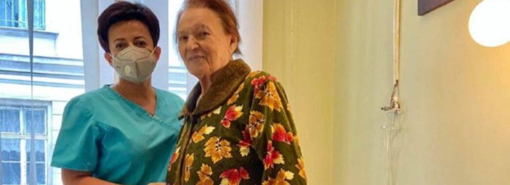 93-річна львів'янка подолала онкологію
