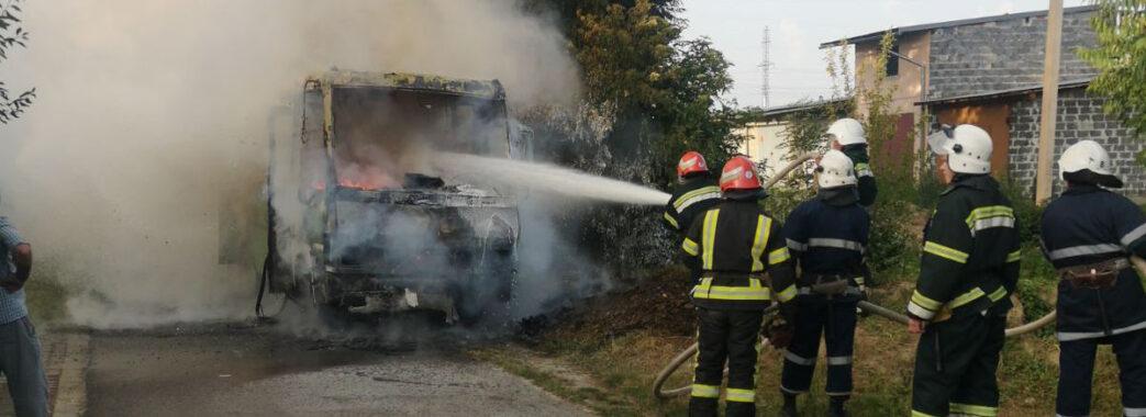 На Стрийщині вщент згорів рейсовий автобус