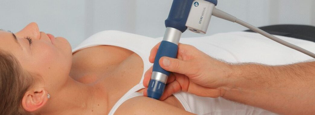 Від болю в плечах, ліктях та ступнях рятує ударно-хвильова терапія