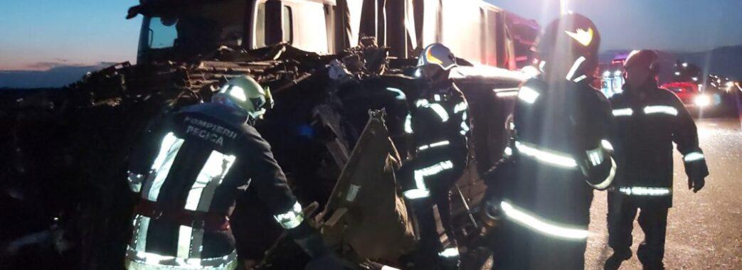 У Румунії в аварію потрапив автобус з українськими пасажирами