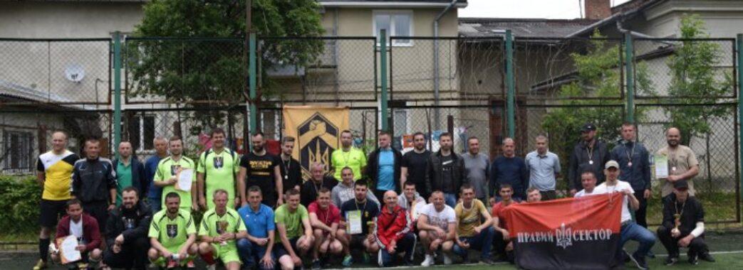 Стрийські священики зіграли у футбол з ветеранами російсько-української війни