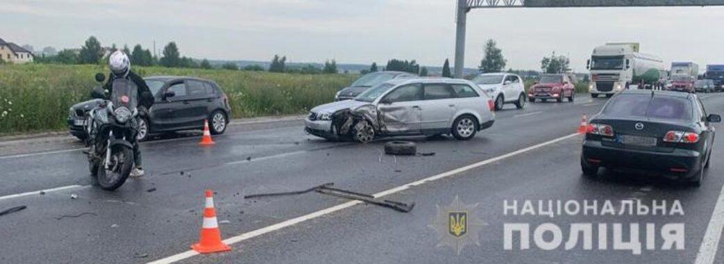 Дворічна дівчинка загинула в аварії під Львовом