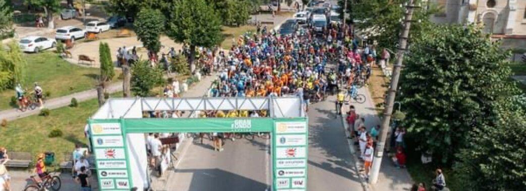 Перегони на Самбірщині зібрали понад пів тисячі велосипедистів