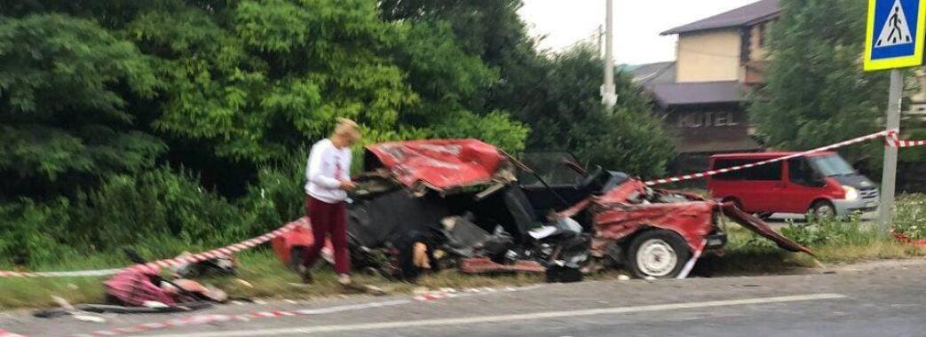 Двоє людей загинули: під Львовом 17-річний водій без прав скоїв аварію