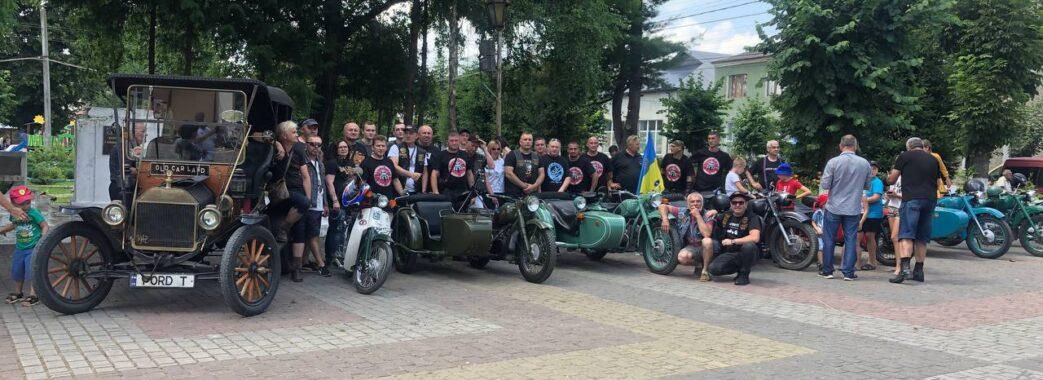 На Самбірщині презентували ретромотоклуб «Хирівські Батяри» (ФОТО, ВІДЕО)