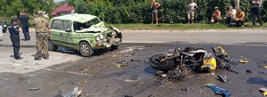 22-річний мешканець Мостищини розбився на мотоциклі