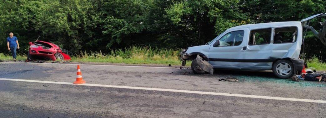 П'ятеро людей постраждали в аварії на Дрогобиччині